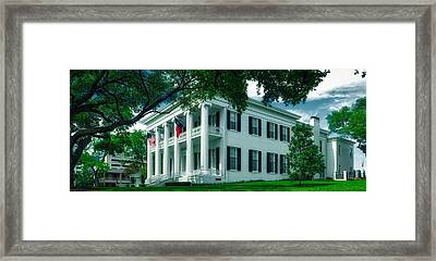 Texas Governor's Mansion Framed Print by Mountain Dreams