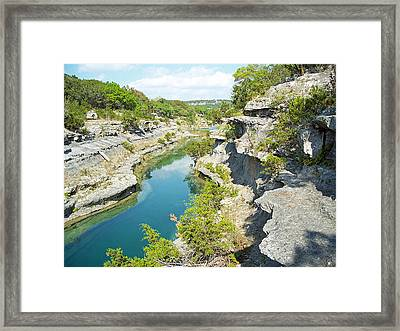 Texas Hill Country Framed Print by Rebecca Shupp
