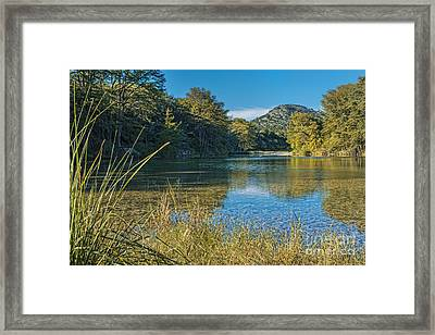Texas Hill Country - The Frio River Framed Print by Andre Babiak