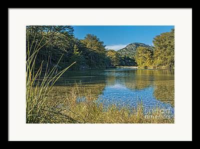 Crystal River Framed Prints