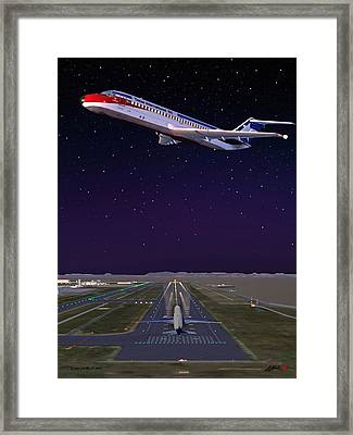 Texas International Ato Cab Framed Print by G Jay Jacobs
