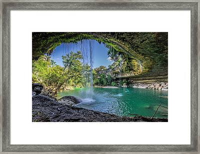 Texas Paradise Framed Print by Jonathan Davison