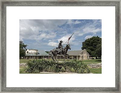 Texas Ranger Hall Of Fame And Museum In Waco Framed Print by Carol M Highsmith