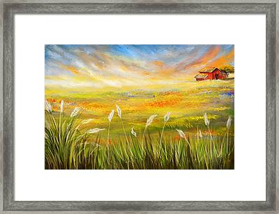 Texas Scene - Texas Art Framed Print