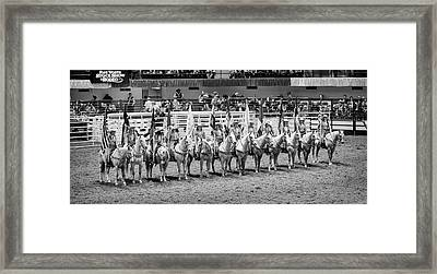 Texas Six Flags  Framed Print by Stephen Stookey