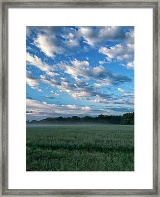 Texas Sky Framed Print