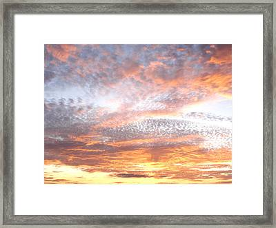 Texas Sky Framed Print by Ursula Wright