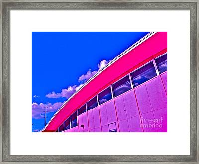 Texas State Office Framed Print by Chuck Taylor