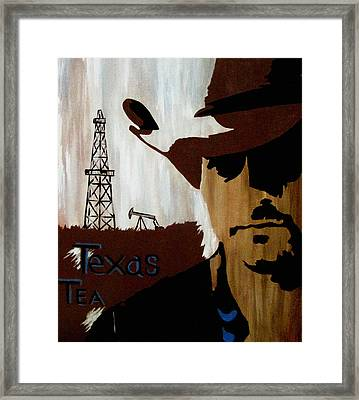 Texas Tea  Framed Print
