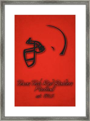 Texas Tech Red Raiders Framed Print by Joe Hamilton