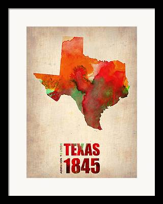 Texas Home Framed Prints