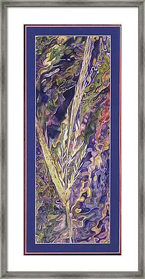 Texas Wild Rice Framed Print by Nancy  Ethiel