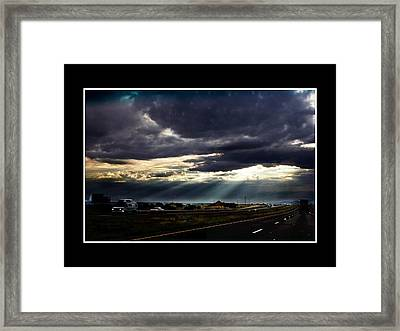 Texassky Framed Print by Richard Gordon