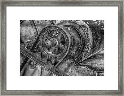 Textile Machinery Framed Print