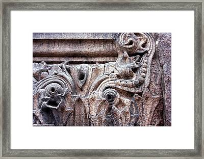 Texture 1 Framed Print by Kenna Westerman
