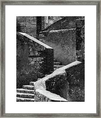 Texture And Tone Framed Print