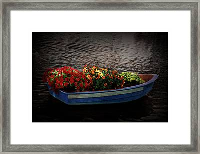 Framed Print featuring the photograph Texture Drama Boat Parade by Aimee L Maher Photography and Art Visit ALMGallerydotcom