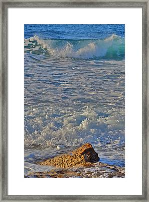 Texture. Island Of Love. Framed Print by Andy Za