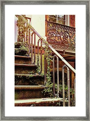 Texture Of Savannah Framed Print by JAMART Photography