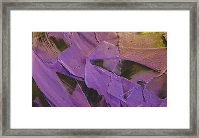 Texture Framed Print