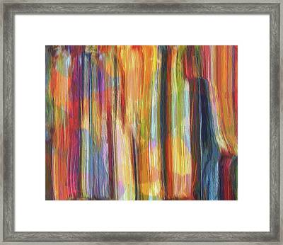 Textured Abstract Number 5 Framed Print by Dan Sproul