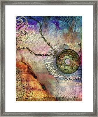 Textured Past Framed Print