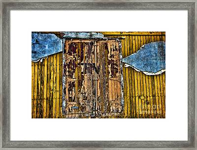 Textured Wall Framed Print by Ray Laskowitz - Printscapes