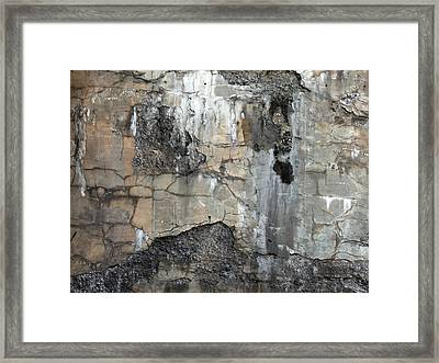 Textures Framed Print