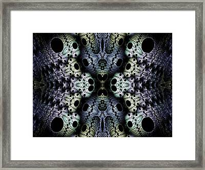 Texturized  Framed Print by Lea Wiggins