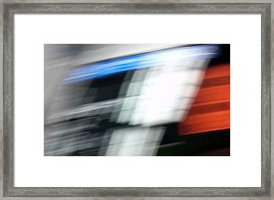 Framed Print featuring the photograph TGV by Steven Huszar