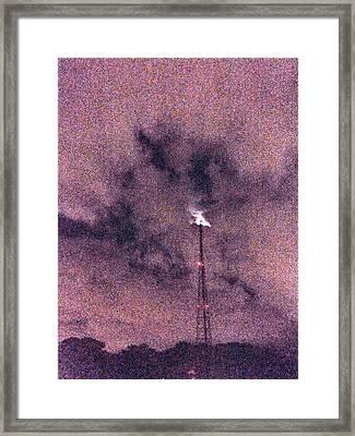 Th Beacon Framed Print
