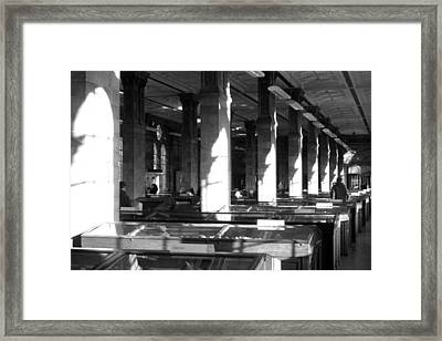 Th Inner Sanctum Framed Print by Jez C Self