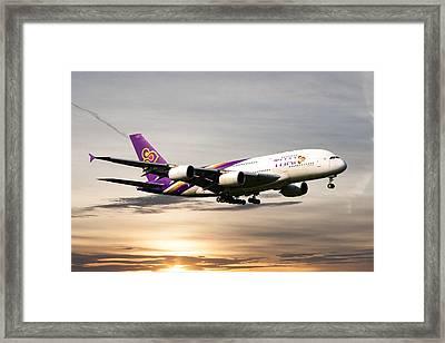 Thai Airlines Framed Print