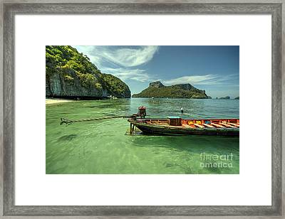 Thai Longtail  Framed Print by Rob Hawkins