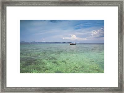 Thai Nok, Thailand Framed Print