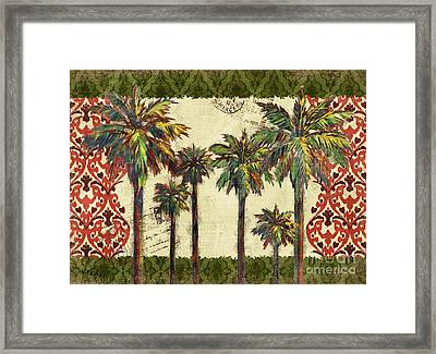 Thai Palm Horizontal II Framed Print