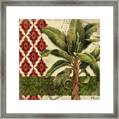 Thai Palm I Framed Print by Paul Brent