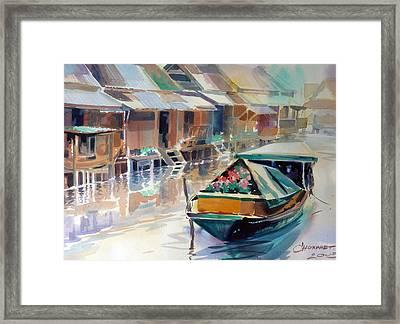 Thai Style Framed Print