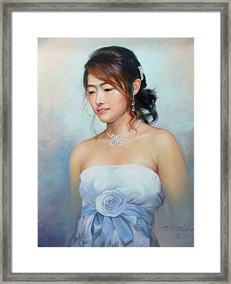 Thai Woman Framed Print