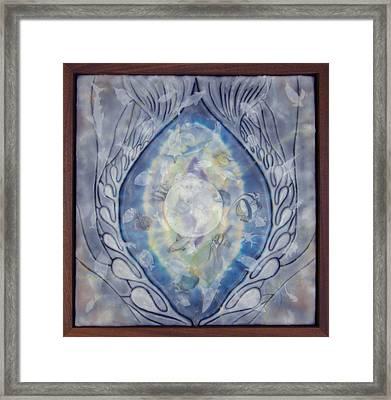Thalassa Goddess Of The Sea Framed Print by Elizabeth Comay