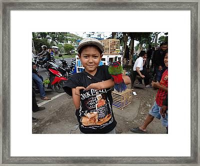 Thalidomide Boy Framed Print