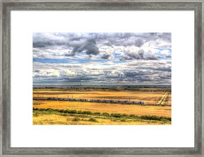Thames Estuary View Framed Print