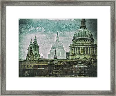 Thamesscape 2 -  Ghosts Of London Framed Print