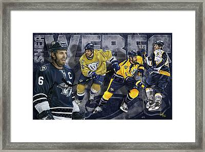 Thanks For The Memories Framed Print by Don Olea