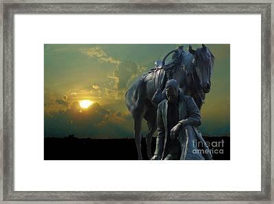 Thanks For The Rain  Framed Print by Janette Boyd