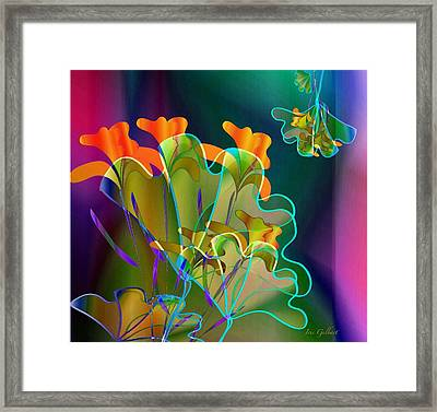 Thanksgiving Bouquet Framed Print