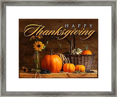 Thanksgiving I Framed Print
