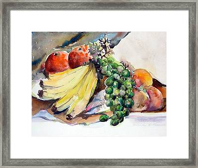Thanksgiving Framed Print by Mindy Newman