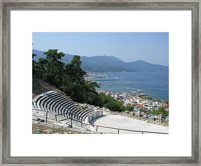 Thasos In September  Framed Print by Clay Cofer
