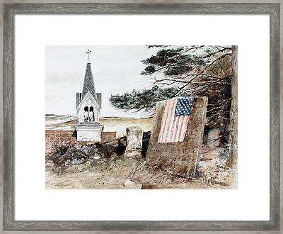 That All Men Are Created Equal Framed Print by Monte Toon